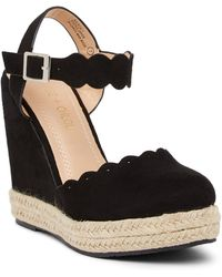 In Touch Footwear - Balboa Espadrille Wedge Sandal - Lyst