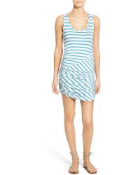 Amour Vert - Eniko Ruched Tank Dress - Lyst