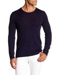 John Varvatos - Knit Pullover Sweater - Lyst