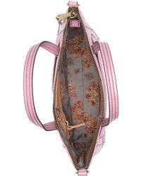 Hobo International Thorn Leather Satchel Bag - Purple