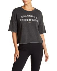 Betsey Johnson - Champagne State Of Mind Short Sleeve Knit Tee - Lyst