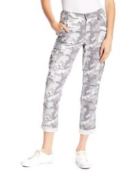 William Rast - Camouflage Cargo Pants - Lyst