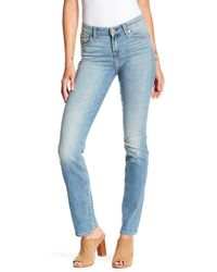 7 For All Mankind - Kimmie Straight Leg Jeans - Lyst