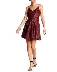 Betsey Johnson - Sequin Mini Dress - Lyst