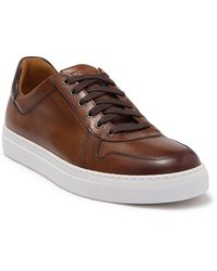 Magnanni - Bobbie Leather Low Top Sneaker - Lyst
