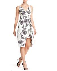 Bebe - Floral Sheath Dress - Lyst