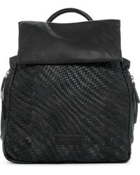 Liebeskind Berlin   Handwoven Leather Backpack   Lyst