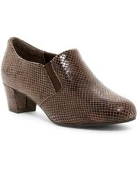Rockport - Cherene Snake Print Bootie - Wide Width Available - Lyst