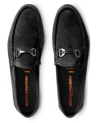 Allen Edmonds Vinci Slip On Bit Venetian - Black