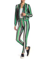 Jealous Tomato Printed Track Suit 2-piece Set - Green