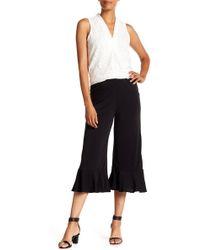 Eci - Solid Crop Knit Pants - Lyst