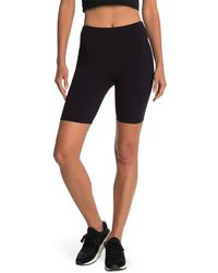 Threads For Thought Tessa Ribbed Bike Shorts - Black
