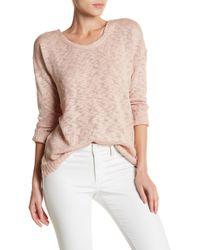 Olive & Oak - Jeremy Long Sleeve Knit Sweater - Lyst