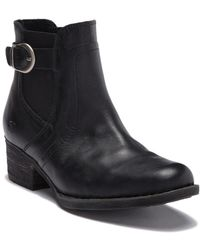 Born - Mohan Leather Bootie - Lyst