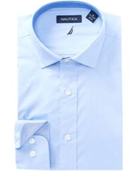 Nautica - Pinpoint Classic Fit Dress Shirt - Lyst