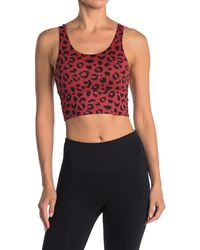 X By Gottex Silhouette Bralette - Red