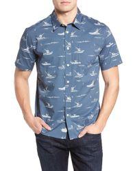 Quiksilver - Fishboats Sport Shirt - Lyst