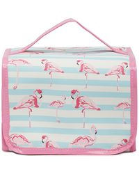 Under One Sky - Stripe/pink Flamingo The Runway Case - Lyst
