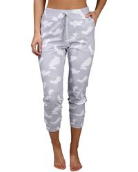 90 Degrees Lux Camo Side Pocket Jogger With Drawstring - Multicolor