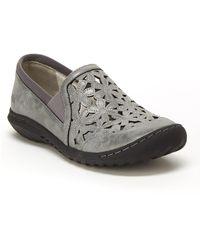 Jambu Wildflower Moc Slip-on Shoe - Grey