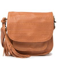 Day & Mood Sandi Leather Crossbody Bag - Brown