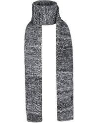 Bickley + Mitchell Marled Knit Scarf - Gray