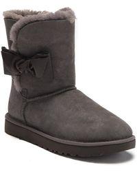 cc4ebe61031 UGG Leather Daelynn Boot Daelynn Boot in Black - Lyst