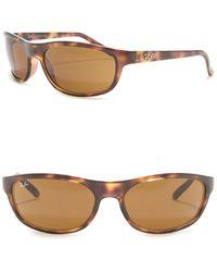 Ray-Ban 62mm Rectangle Sunglasses - Multicolor
