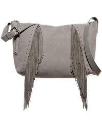 Lucky Brand - Aspen Leather Crossbody Bag - Lyst