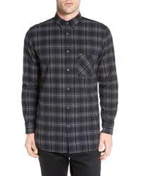 American Rag Cie - Flannel 7ft Long Sleeve Shirt - Lyst