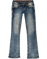 Rock Revival Bootcut Jeans - Blue