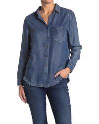 Velvet Heart Gavyn Long Sleeve Button Down Shirt - Blue