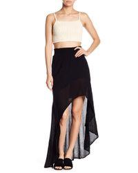 Young Fabulous & Broke - Kylie Hi-lo Skirt - Lyst