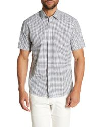 Borgo 28 - Mini Square Printed Modern Fit Shirt - Lyst