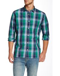 Color Siete - Long Sleeve Crosby Madras Shirt - Lyst
