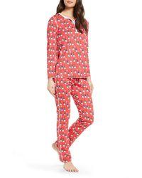 Roberta Roller Rabbit Gnoels Pajamas - Red