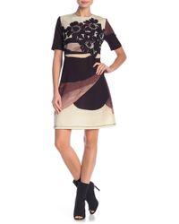 Petit Pois - Patterned Short Sleeve Dress - Lyst
