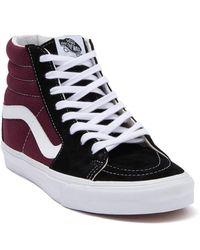 Vans - Colorblock Sk8 High Top Sneaker - Lyst
