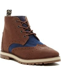 TOMS - Brogue Boot - Lyst