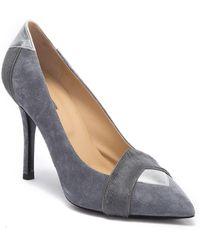 Longchamp Artwalk Genuine Calf Hair Pointed Toe High-heel - Multicolor