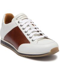Magnanni Chaz Perforated Leather Sneaker - Multicolour