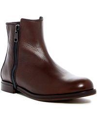 DIESEL | Zip-round Dressy D-zipphim Leather Boot | Lyst