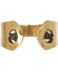 Soko - Astra Prong Set Horn Cuff Bracelet - Lyst