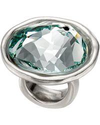 Uno De 50 - Oh My Goodness Round-cut Swarovski Stone Ring - Lyst