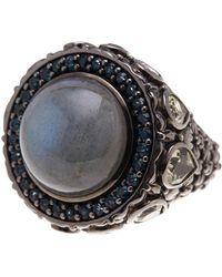 Stephen Dweck - Cabochon Labradorite & Quartz Ring - Size 7 - Lyst