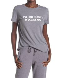 Sub_Urban Riot To Do List Graphic Tee - Gray
