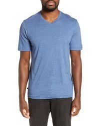 Travis Mathew Talk To Me V-neck T-shirt - Blue
