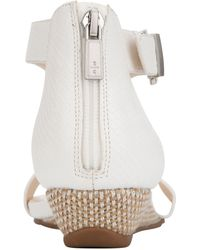 Kenneth Cole Reaction Great Gal T-strap Sandal - White