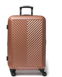 "Kenneth Cole Lift Off 28"" Expandable Hardside 4-wheel Upright Suitcase - Multicolor"