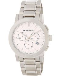 Burberry - Men's The City Chronograph Bracelet Watch - Lyst